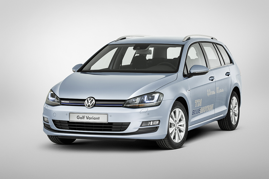 nieuwe volkswagen golf 7 variant is officieel 3 3l 100km. Black Bedroom Furniture Sets. Home Design Ideas