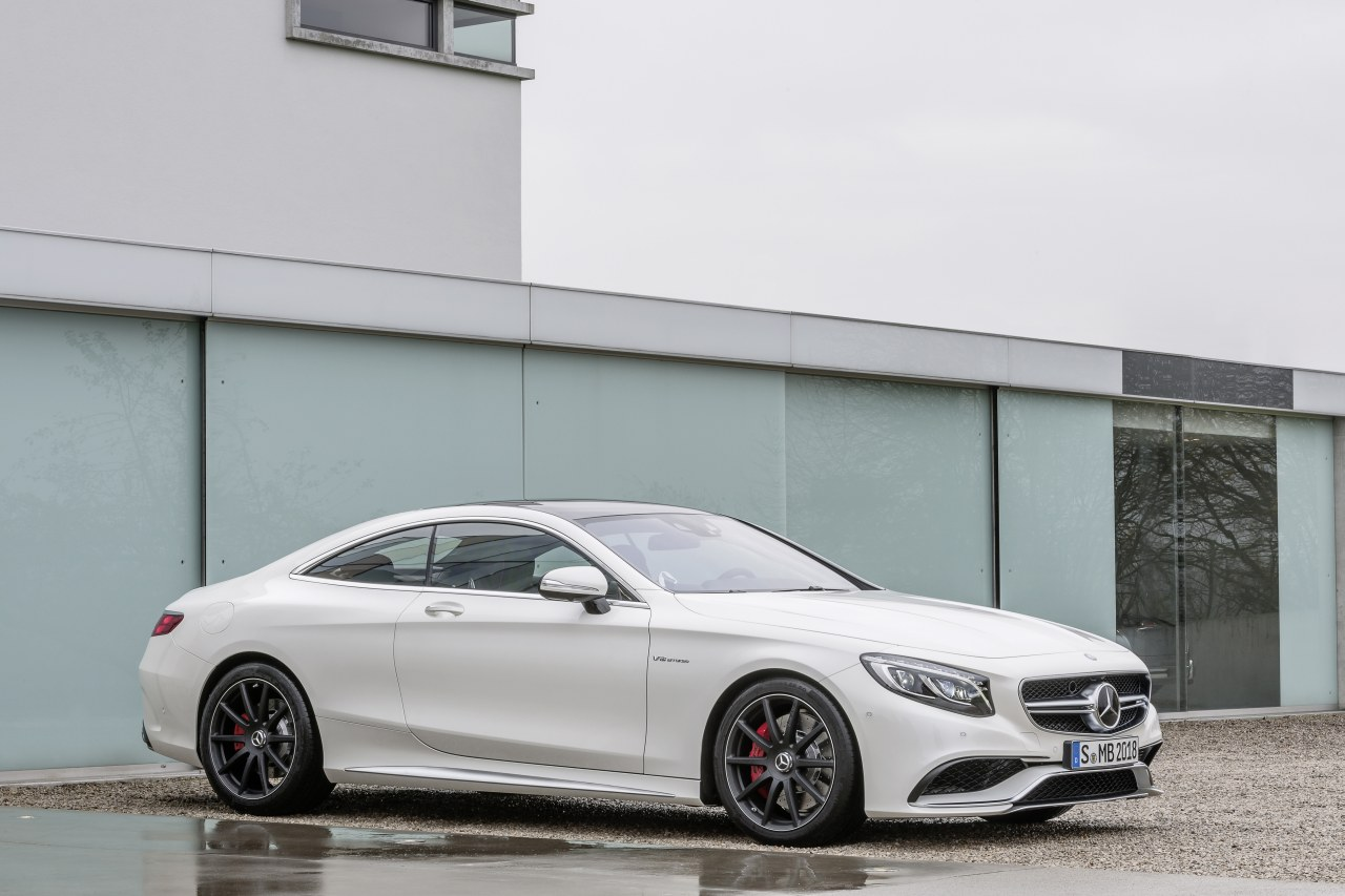 Mercedes S-klasse Coupe S63 AMG 4-Matic wit 2015 10