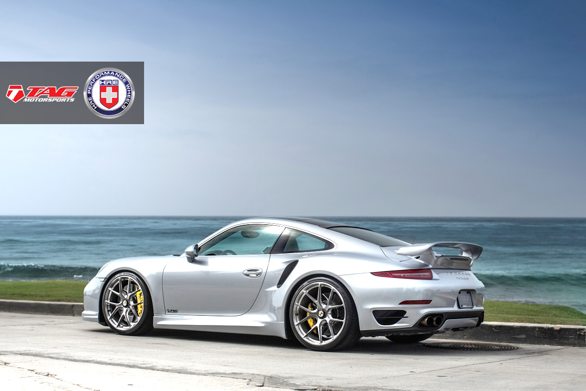 Porsche 911 Turbo S with HRE P101CL in Brushed Dark Clear by TAG Motorsports - Photo by Linhberg (15)