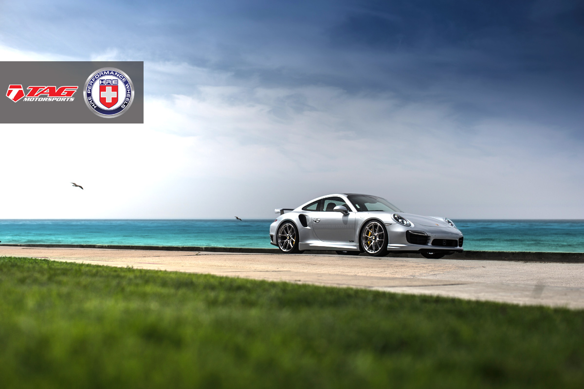 Porsche 911 Turbo S with HRE P101CL in Brushed Dark Clear by TAG Motorsports - Photo by Linhberg (21)