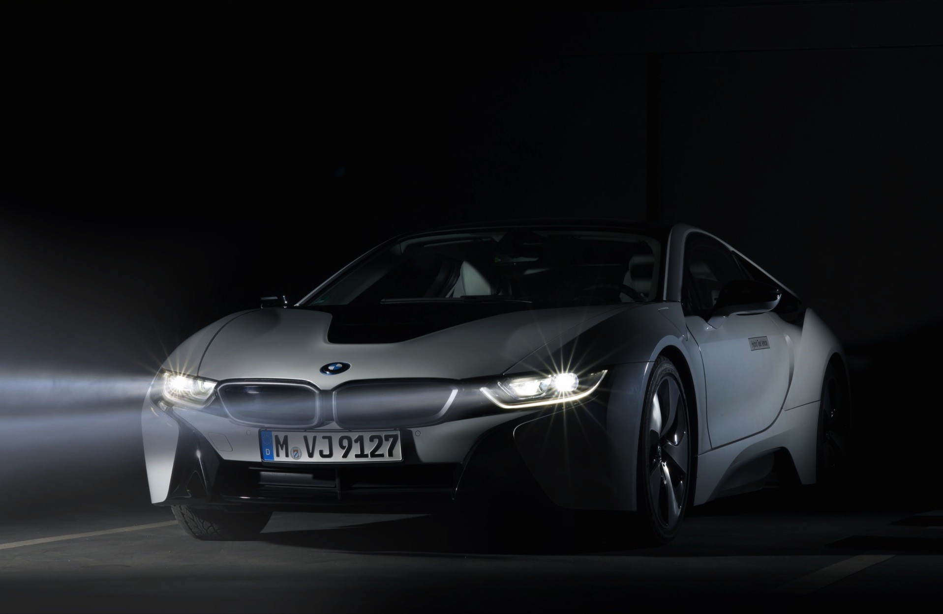 BMW i8 laserlicht LED assistent 2014 10