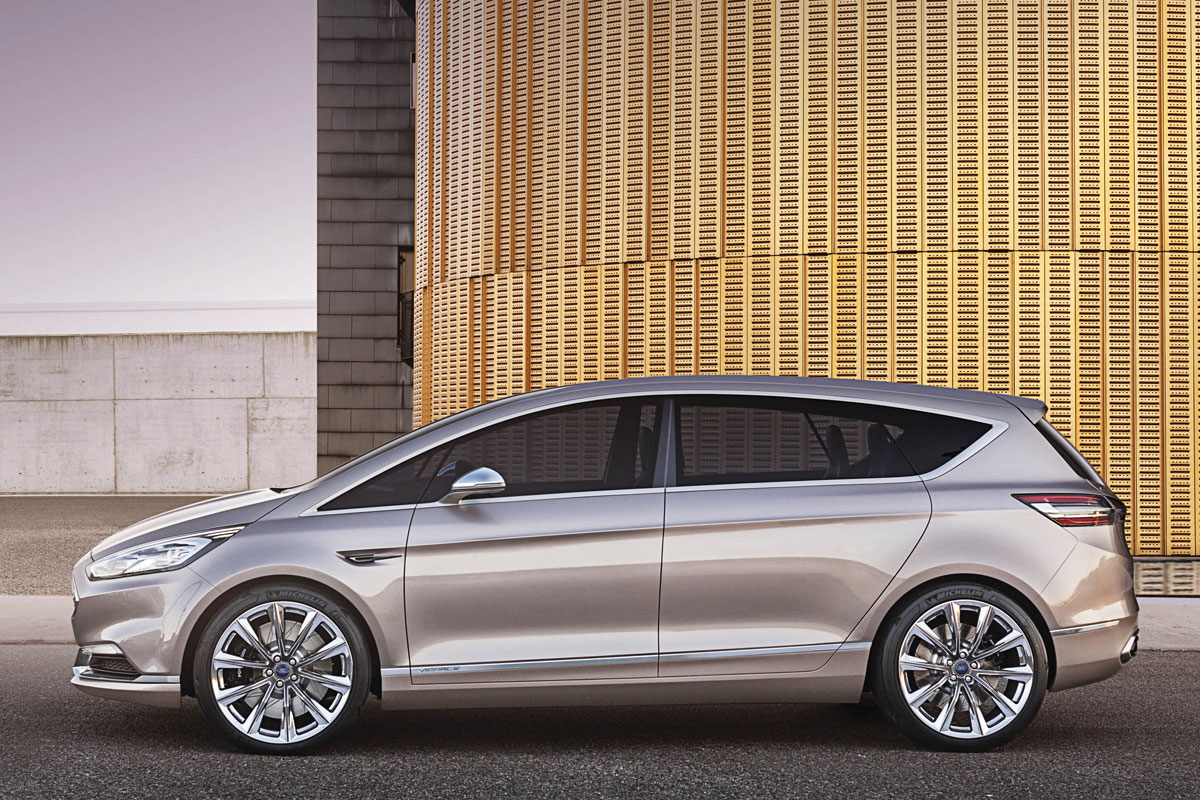 Ford S-Max Concept Vignale Luxe brons 2014 03