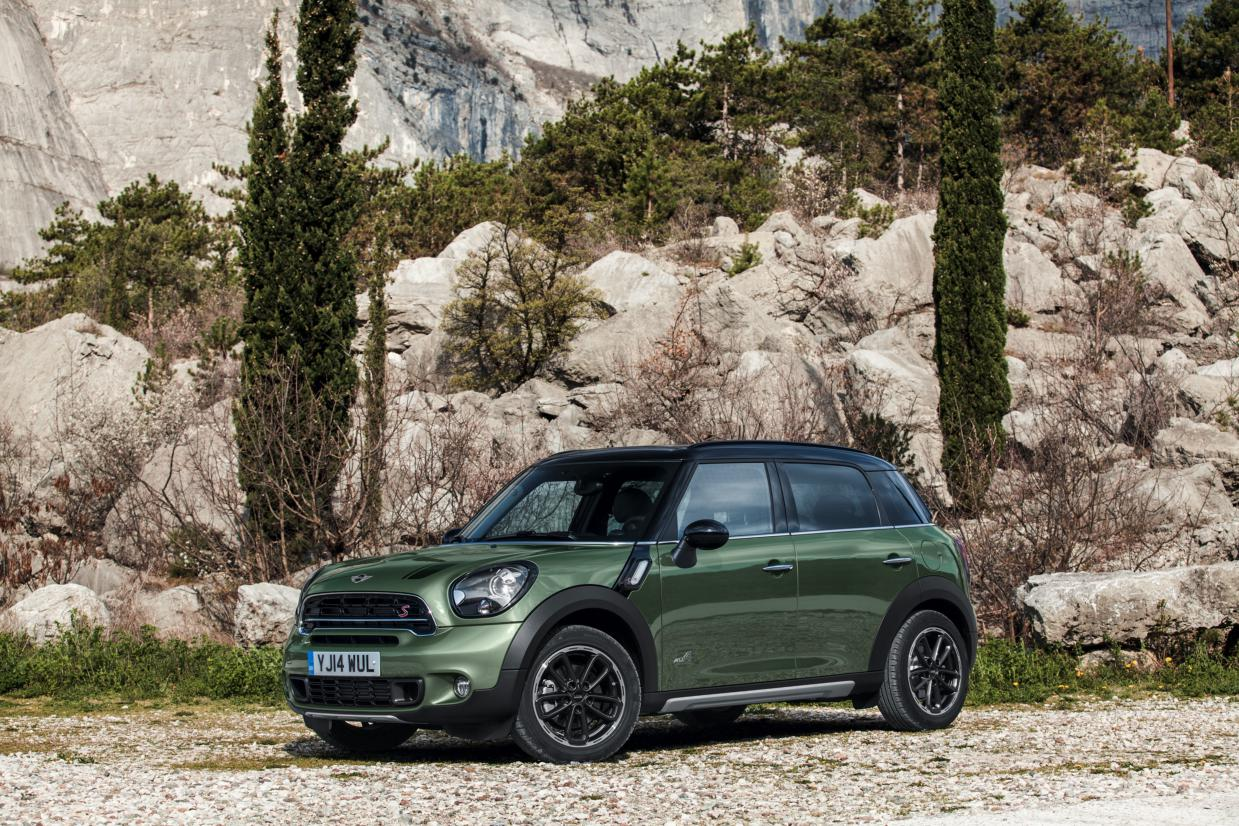 Mini Countryman ALL4 Minimalism groen 2015 10