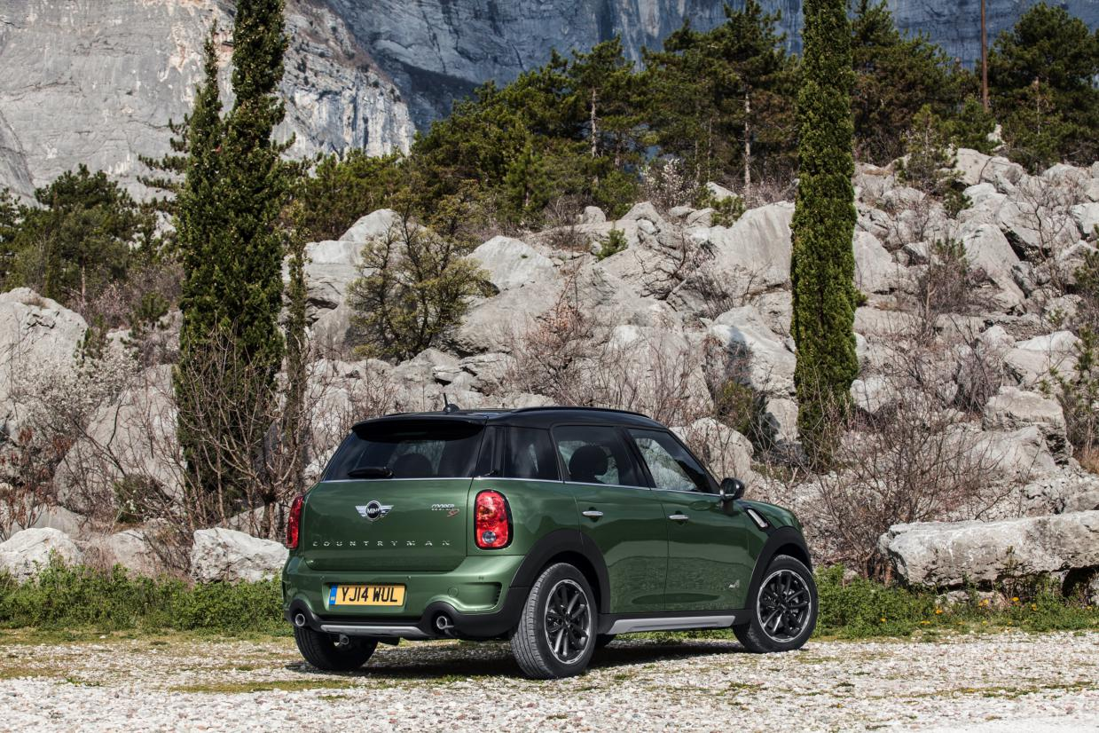 Mini Countryman ALL4 Minimalism groen 2015 11