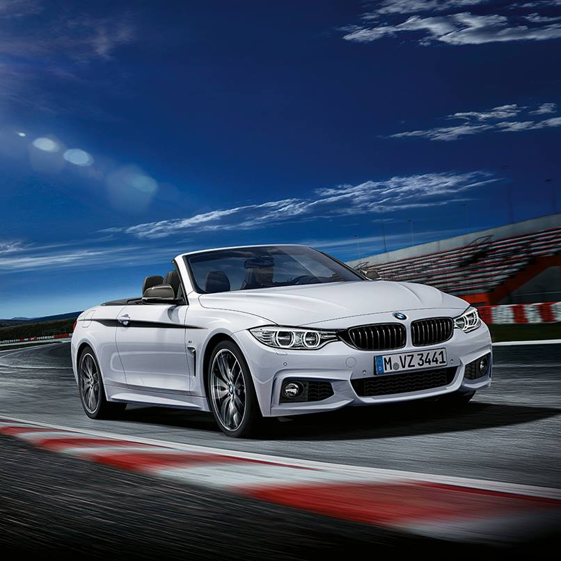 bmw 4 serie cabriolet met m performance accessoires drivessential. Black Bedroom Furniture Sets. Home Design Ideas