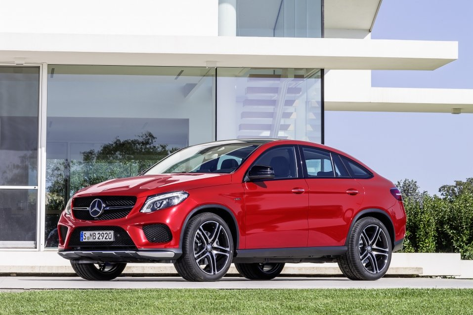 Mercedes benz gle coup heeft slechts n concurrent for 2014 mercedes benz gle 350