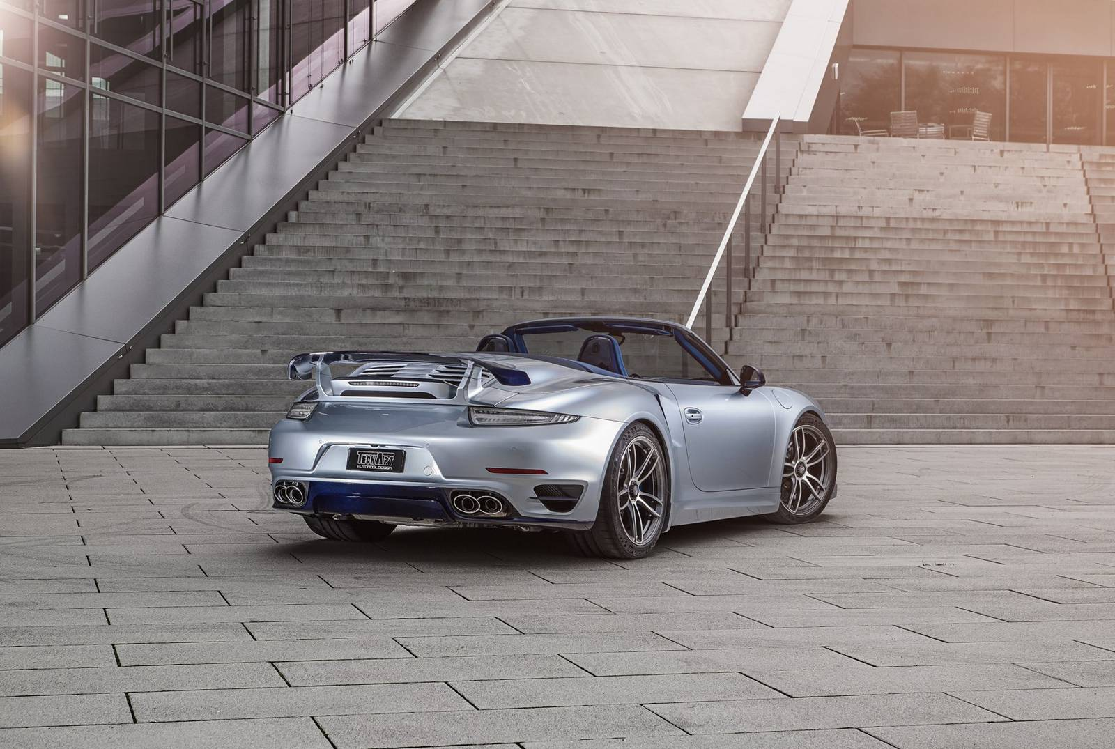 over the turbo top techart porsche 911 turbo s cabriolet drivessential. Black Bedroom Furniture Sets. Home Design Ideas