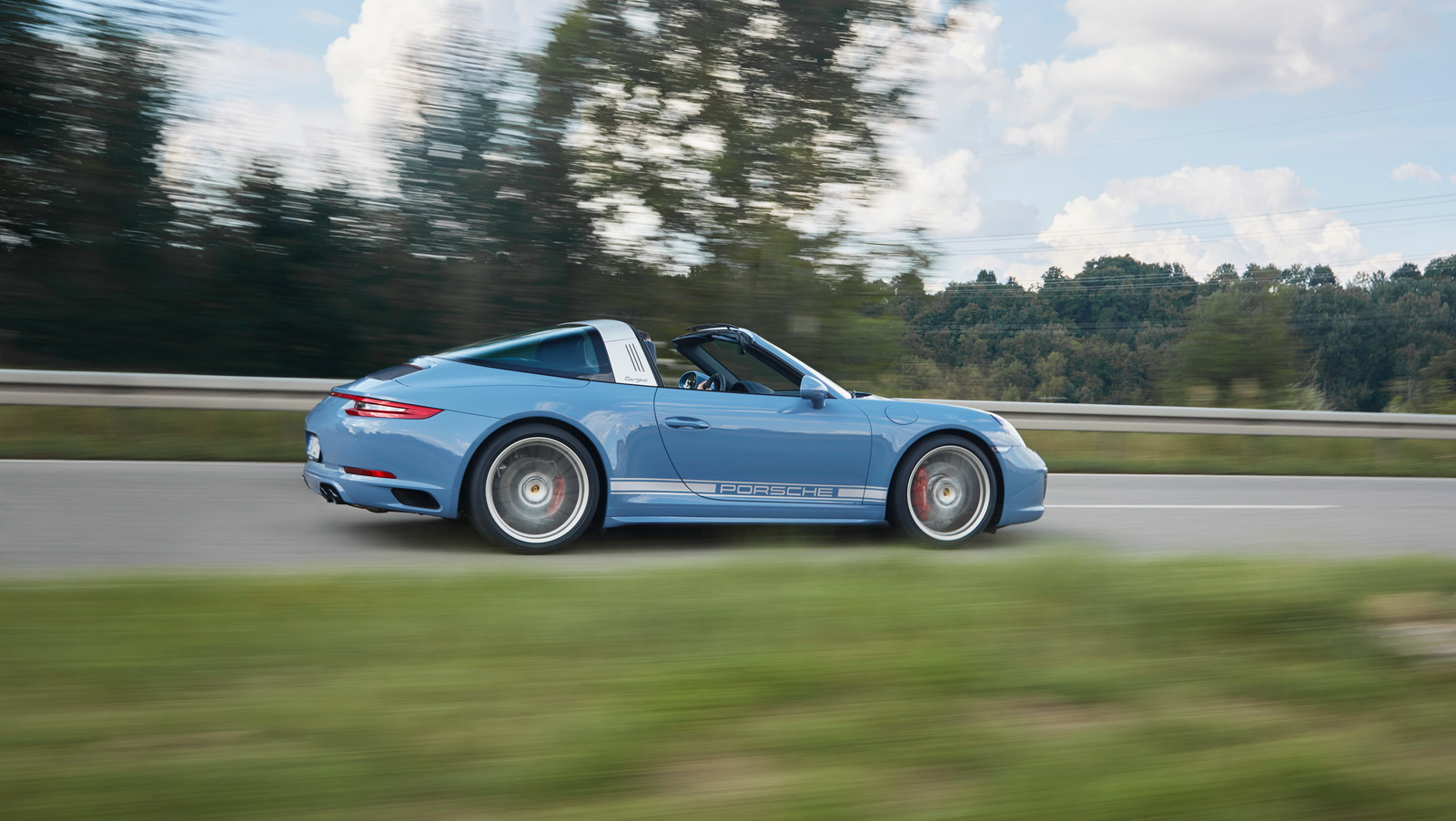 Porsche 911 991.2 Exclusive Design Edition Targa 4S blauw 03